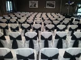 Black And White Chair Covers Secondhand Prop Shop Table Linen And Decor Chair Covers