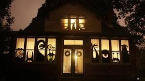 window decoration decorations cheap scary
