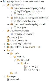 tutorial java spring hibernate spring mvc 4 form validation exle using hibernate validator