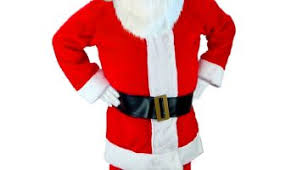 santa claus suit santa claus costume rental rentals san francisco bay area