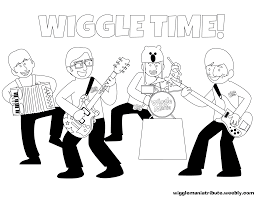 wiggles coloring pages fleasondogs org