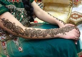bridal mehndi design popular green bridal mehndi design