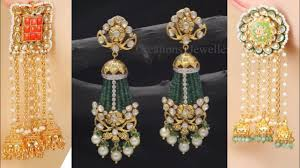 latkan earrings latkan earrings collection latkan kundan earrings design ideas for