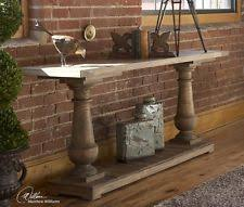 uttermost stratford rustic console 24250 table ebay