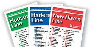 Metro Time Table Mta News New Metro North Schedules Take Effect On Sunday
