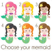 mermaid birthday party invitations littleseirastudio birthday