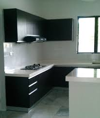L Kitchen Designs Kitchen Delightful Small L Shaped Kitchen Design Ideas With Black