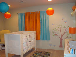 Curtains For Nursery Room by Curtains Orange And Aqua Curtains Inspiration Decoration Orange