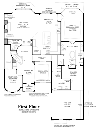 chateau floor plans southlake glen the bellwynn home design