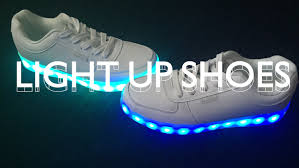 light up sneakers light up shoes unboxing youtube