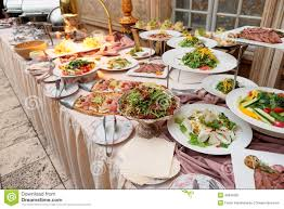 table full of food catering table full of food stock photo image of many