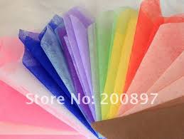 solid color wrapping paper solid color tissue paper 50x50cm 45pcs lot colors choice flower