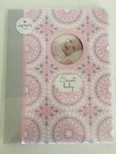 baby girl memory book carters baby book ebay