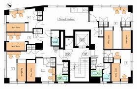 guest house floor plan tokyo guesthouse 34 azabu hiroo roppongi area minato ku