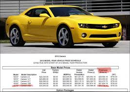 accessories for 2010 camaro 2010 camaro pricing sheet includes msrp employee discounts and