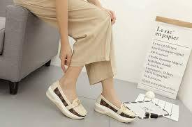 Jual Wedges jual sepatu wanita lv terbaru wedges slip on shoes terlaris ke