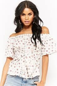 shoulder tops the shoulder tops blouses shirts more forever21
