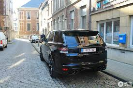 range rover svr black land rover range rover sport svr 16 march 2017 autogespot