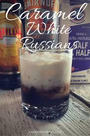 if you love a caramel macchiato then the caramel white russian