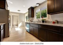 brown kitchen cabinets brown kitchen cabinets high res stock images