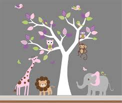 baby room wall decor nursery jungle wall decal tree monkey baby room wall decor nursery jungle wall decal tree monkey intended for tree wall decor for