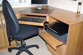 Corner Home Office Desks Home Office Corner Desk Made To Measure Office Furniture