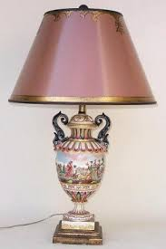 Vintage Porcelain Light Fixtures Antique Porcelain Lamps Foter
