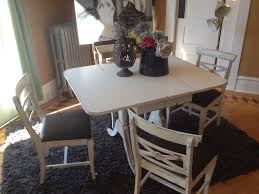 sold u2013 gorgeous distressed shabby chic duncan phyfe dining room