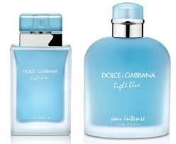 dolce and gabbana light blue for women dolce gabbana light blue eau intense new fragrances now smell