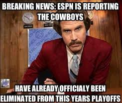 Giants Cowboys Meme - funny sports memes nfl playoffs raiders and patriots