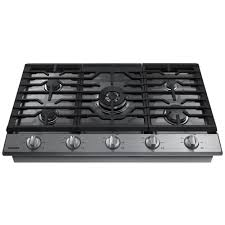 Blue Star Gas Cooktop 36 Samsung 36 In Gas Cooktop In Stainless Steel With 5 Burners