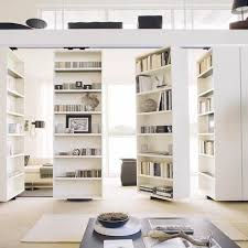 Bookcase Room Dividers by Charming Open Bookcase Room Divider 65 For House Interiors With