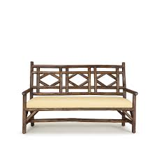 Threshold Settee Bench by Rustic Settee La Lune Collection