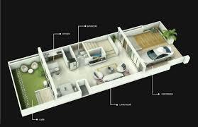 row house floor plan l amour calmare