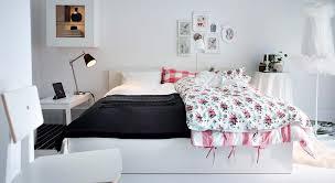 bedroom foxy ikea white bedroom decoration ideas using light