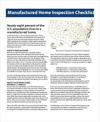 home inspection checklist template 9 free pdf documents