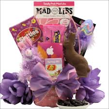 easter gift basket totally girlie easter gift basket tween girl ages 10 to 13 years