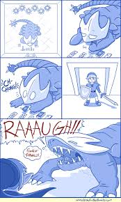brawl in the family 336 why do i find the lizard thing so cute u003c3