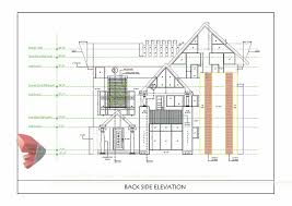 floor plan and elevation drawings bunglow design 3d architectural rendering services 3d