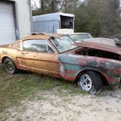 1965 mustang parts 1965 ford mustang fastback project car and parts