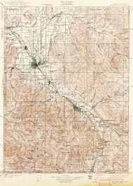 Roseburg Oregon Map by Mining In America