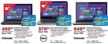 staples black friday 2013 ad leaks laptop desktop tablet pc
