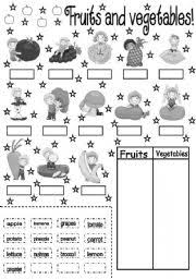 fruits and vegetables worksheet by soledad grosso