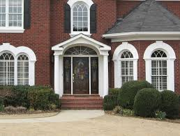 gable portico with arch designed and built by georgia front porch