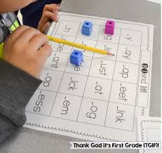 free consonant blends game consonant blends first grade and tgif
