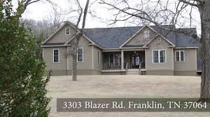 beautiful country home for sale on 3303 blazer rd franklin tn