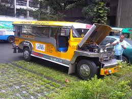philippine jeep drawing comparative study of jeepneys lpg jeepney caught up in traffic