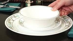 Corelle 12 Piece Dinnerware Set Amazon Com Livingware Tree Bird 16 Piece Dinnerware Set Plate