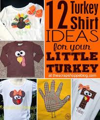 12 diy turkey shirt ideas for your little turkeys