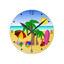 themed clocks themed wall clocks zazzle co uk